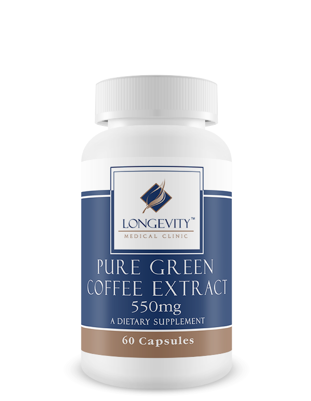 Pure Green Coffee Extract Supplement Feel Younger Live Better